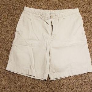 Mens banana republic khaki shorts